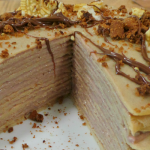 High Protein Crepe Cake