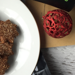 Christmas in July Protein Flaxseed Cookies